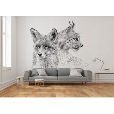 Mural – Onwall – Fox Lynx