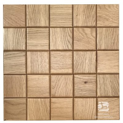 Panel drewniany 3D - Natural Wood Panels - Dąb Natur Choco 2