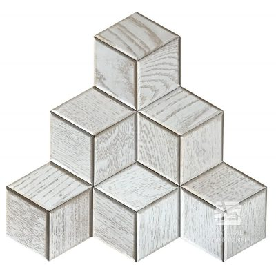 Panel drewniany 3D - Natural Wood Panels - Dąb Scandi Hexagon 17