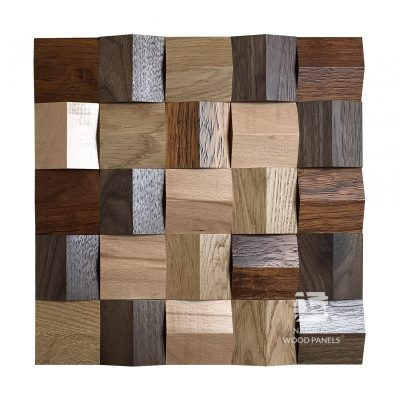 Panel drewniany 3D - Natural Wood Panels - Mix 085