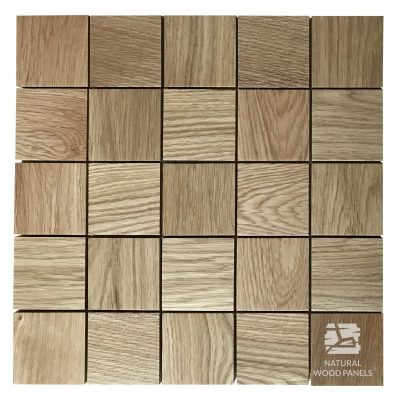 Panel drewniany 3D - Natural Wood Panels - Pixello Dąb 203