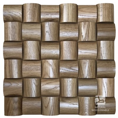Panel drewniany - Natural Wood Panels - Wave Dąb 104