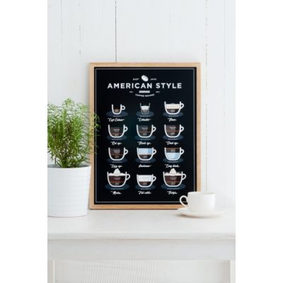 Plakat – Follygraph – American Style Coffee