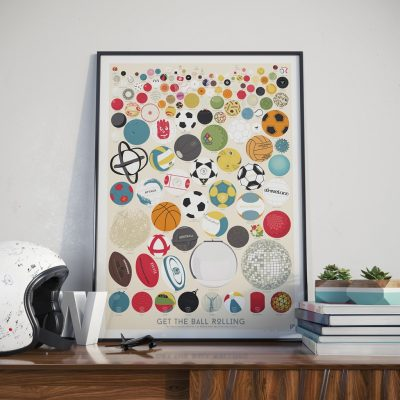 Plakat – Follygraph – The Great Collection of 127 Balls